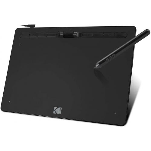 "Open Box: Kodak CyberTablet HD Graphic Tablet F12 - 12"" x 7"" Active Area - 8192 Pressure Level - 5080 lpi - Pen Included"