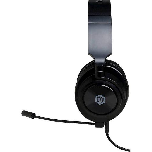 CyberPowerPC Spectre 01 Wired Stereo Gaming Over The Ear Headset   For PC, Mac, PS4, Xbox One, Switch And Select Mobile   3.5mm Audio Jack   90 Degree Swivel Earcups   Steel Reinforced Frame   Detachable Microphone