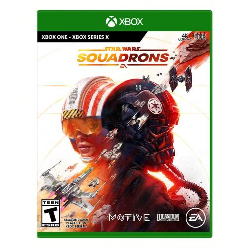 Star Wars: Squadrons Xbox One - For Xbox One & Xbox Series X - ESRB Rated T (Teen 13+) - Multiplayer Supported - Action & Simulation Game - Master Legendary Starfighters