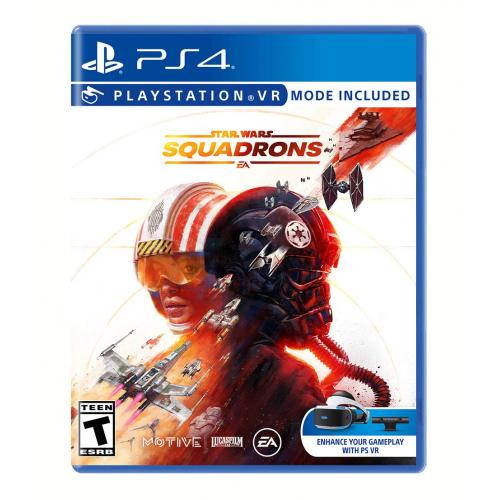 Star Wars Squadrons PS4 - For PlayStation 4 - ESRB Rated T (Teen 13+) - Action/Adventure game - Single & Multiplayer Supported - Show off your starfighter piloting!