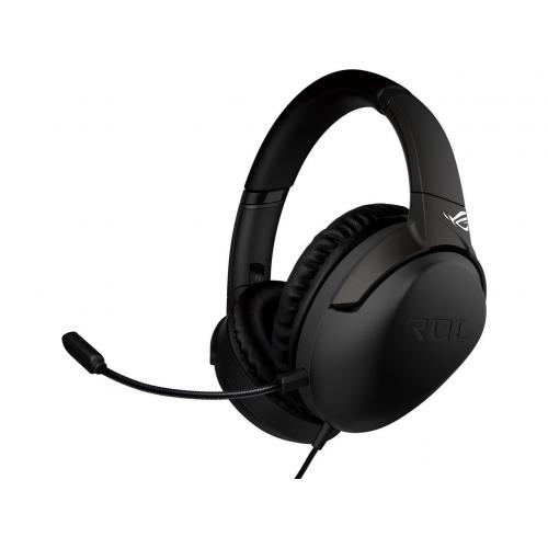 ASUS ROG Strix Go Wired Gaming Headset - Hi-Res Essence 40mm Drivers - Lightweight at 262 grams - USB-C Connector - PC, Mac, Mobile Gaming, Playstation 4/5, Xbox One, Nintendo Switch