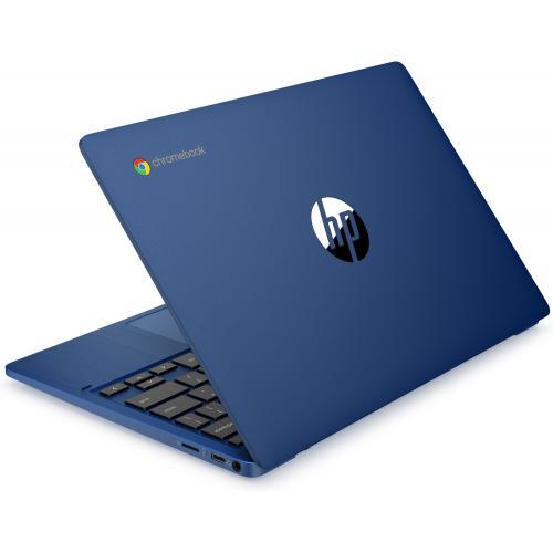 "HP Chromebook 11a 11.6"" MediaTek MT8183 4GB RAM 32GB EMMC Indigo Blue   MediaTek MT8183 Octa Core   100GB Google One Drive   Dual Speakers W/ Integrated Microphones   Up To 15 Hr 45 Min Battery Life   Chrome OS"