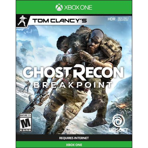 Tom Clancy's Ghost Recon Breakpoint Standard Edition - Xbox One/ Xbox Series X - ESRB Rated M (Mature) - Action/Adventure game - Single Player