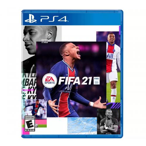 FIFA 21 PlayStation 4 - For PS4 & PS5 - ESRB Rated E (Everyone) - Sports Game - Multiplayer Supported - Build your FIFA 21 Ultimate Team