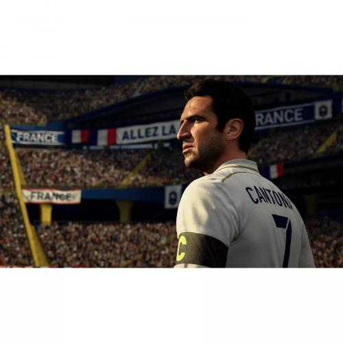 FIFA 21 PlayStation 4   For PS4 & PS5   ESRB Rated E (Everyone)   Sports Game   Multiplayer Supported   Build Your FIFA 21 Ultimate Team