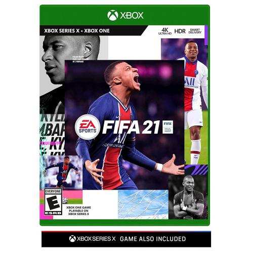 FIFA 21 Xbox One - For Xbox One & Xbox Series X - ESRB Rated E (Everyone) - Sports Game - Multiplayer Supported - Build your FIFA 21 Ultimate Team