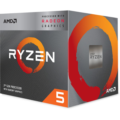 AMD Ryzen 5 3400G Unlocked Desktop Processor + Microsoft 365 Personal 1 Year Subscription For 1 User