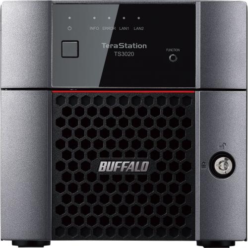 Buffalo TeraStation 3220DN 8TB Desktop Storage System   Serial ATA/600 Controller   RAID Supported   2.5 Gigabit Ethernet   2 USB 3.0 Port(s)   TAA Compliant