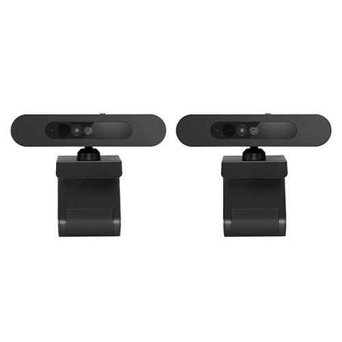 Lenovo 500 FHD Webcam 2-Pack - 1920 x 1080 Video Resolution - 4x Digital Zoom - USB 2.0