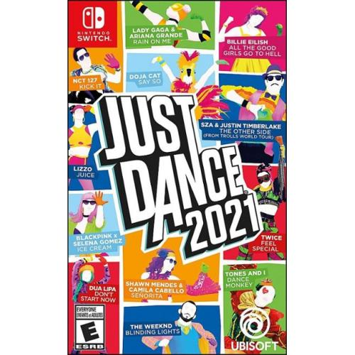 Just Dance 2021 - For Nintendo Switch - ESRB Rated E (everyone) - Music, Dance, & Fitness game - Up to 6 players can join! - Create custom personalized playlists