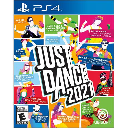 Just Dance 2021 PS4 - For PlayStation 4 - ESRB Rated E (Everyone) - Music, Dance, & Fitness Game - Single & Multiplayer supported