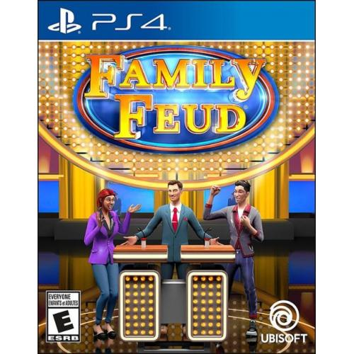 Family Feud PS4 - For PlayStation 4 - ESRB Rated E (Everyone) - Single & Multiplayer Supported - Kids and Family Game - Play against others across the world!