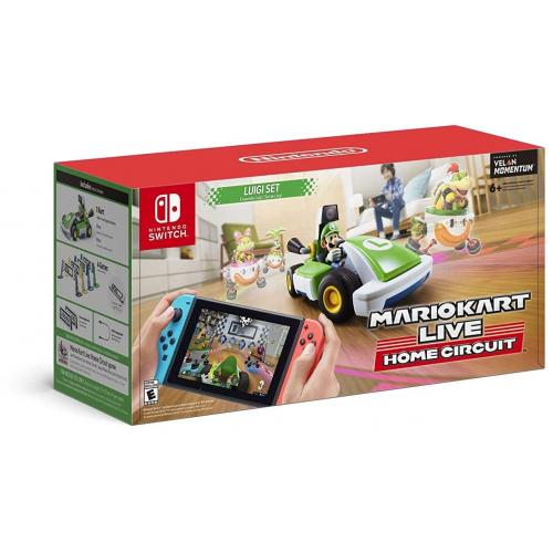 Mario Kart Live: Home Circuit Luigi Set Edition - For Nintendo Switch & Nintendo Switch Lite - Unlock in-game environments - Create a race course in your home