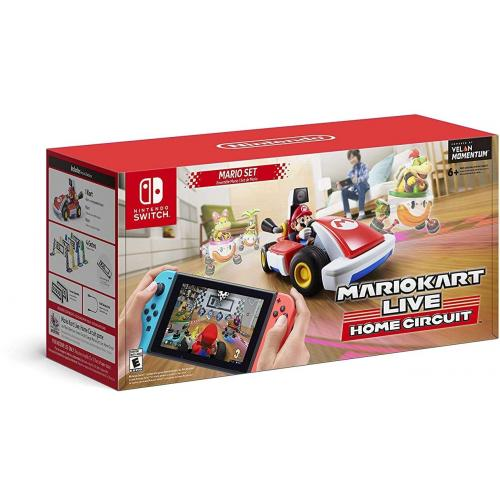 Mario Kart Live: Home Circuit Mario Set Edition - For Nintendo Switch & Nintendo Switch Lite - Unlock in-game environments - Create a race course in your home