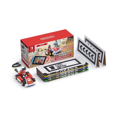 Mario Kart Live: Home Circuit Mario Set Edition   For Nintendo Switch & Nintendo Switch Lite   Unlock In Game Environments   Create A Race Course In Your Home