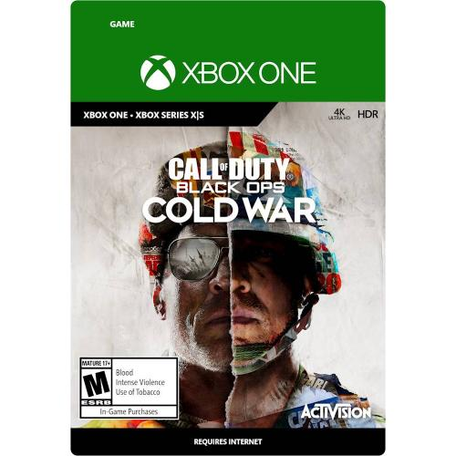 Call of Duty: Black Ops Cold War Std Edition (Digital Download) - For Xbox Series X S & Xbox One - First Person Shooter Game - M (Mature 17+) Rating - Standard Edition