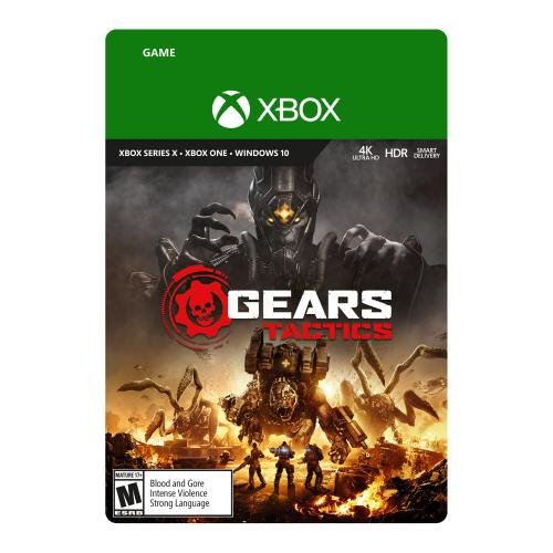 Gears Tactics (Digital Download) - For Xbox One, Xbox Series X/S, & Windows 10 - Full game download included - ESRB Rated Mature (17+) - Multi-player supported