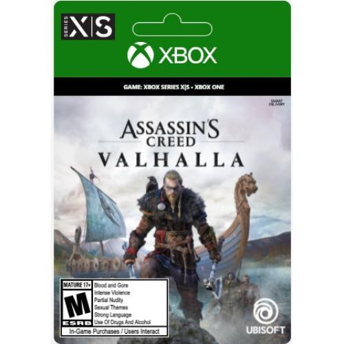 Assassin's Creed Valhalla Standard Edition (Digital Download) - For Xbox Series X|S & Xbox One - ESRB Rated M (Mature 17+) - Role Playing Game - Single-Player Game