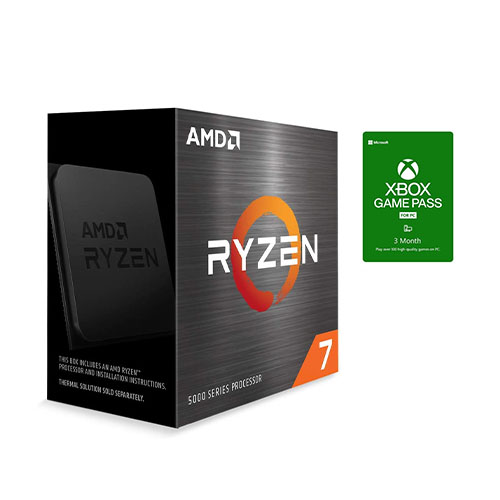 AMD Ryzen 7 5800X 8-core 16-thread Desktop Processor +