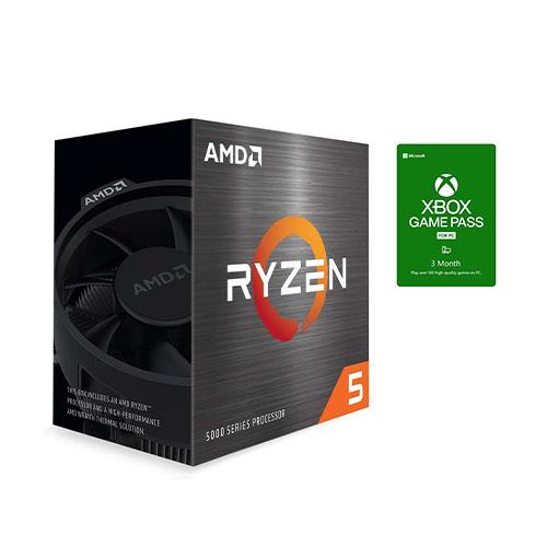 AMD Ryzen 5 5600X 6-core 12-thread Desktop Processor +