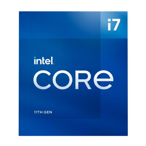 Intel Core I7 11700 Desktop Processor   8 Cores & 16 Threads   Up To 4.9 GHz Turbo Speed   16M Smart Cache   Socket LGA1200   PCIe Gen 4.0 Supported