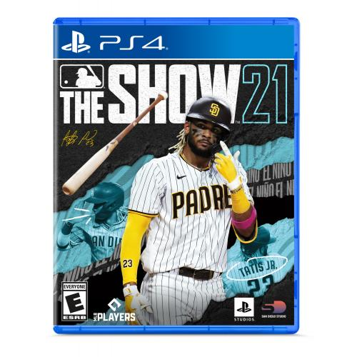 MLB The Show 21 PS4 - For PlayStation 4 - ESRB Rated E (Everyone) - Releases 4/20/2021 - Sports Game - Play as all-new legends!