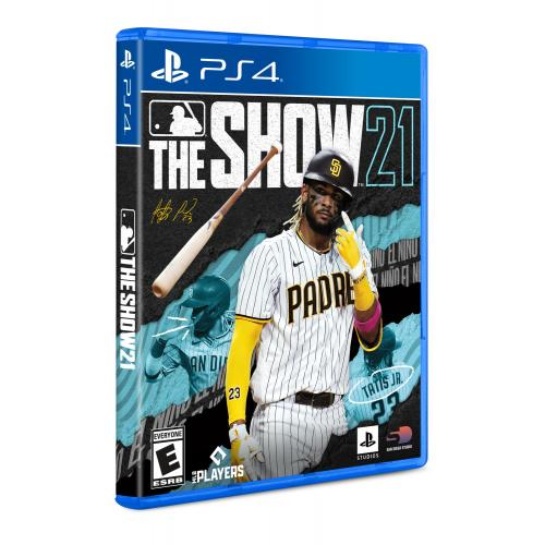 MLB The Show 21 PS4   For PlayStation 4   ESRB Rated E (Everyone)   Releases 4/20/2021   Sports Game   Play As All New Legends!