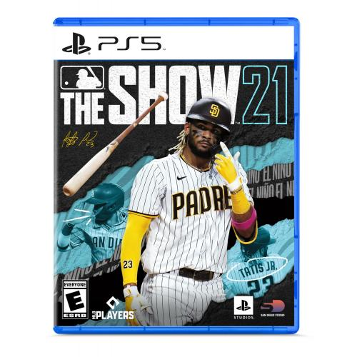 MLB The Show 21 PS5 - For PlayStation 5 - ESRB Rated E (Everyone) - Releases 4/20/2021 - Sports Game - Play as all-new legends!