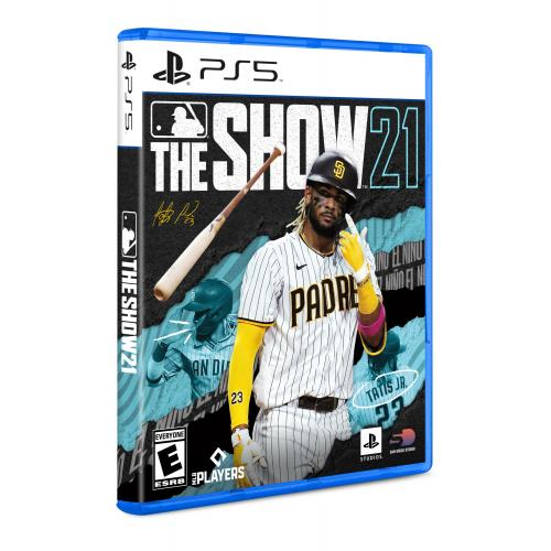 MLB The Show 21 PS5   For PlayStation 5   ESRB Rated E (Everyone)   Releases 4/20/2021   Sports Game   Play As All New Legends!