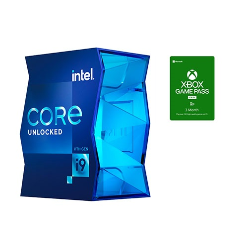 Intel Core i9-11900K Unlocked Desktop Processor + Microsoft Xbox Game Pass For PC 3 Month Membership (Email Delivery)