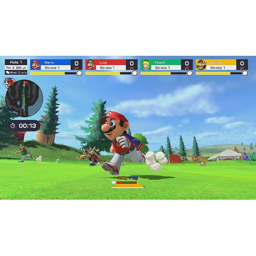 Mario Golf: Super Rush Nintendo Switch   For Nintendo Switch & Nintendo Switch Lite   ESRB Rated E (Everyone)   Releases On 6/25/2021   Sports And Action Game   Multi Player Supported