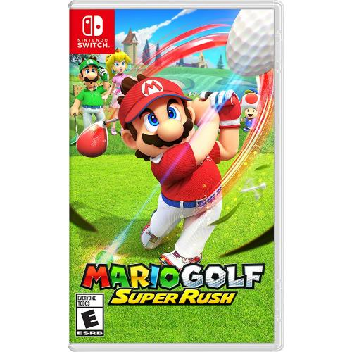 Mario Golf: Super Rush Nintendo Switch - For Nintendo Switch & Nintendo Switch Lite - ESRB Rated E (Everyone) - Releases on 6/25/2021 - Sports and Action Game - Multi-player supported