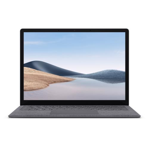 "Microsoft Surface Laptop 4 13.5"" Touchscreen AMD Ryzen 5 4680U 8GB RAM 256GB SSD Platinum   AMD Ryzen 5 4680U Hexa Core   2256 X 1504 Touchscreen Display   Integrated AMD Radeon Graphics   Windows 10 Home   Up To 19 Hours Of Battery Life"