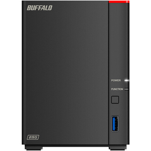 Buffalo LinkStation SoHo 720DB 4TB Storage System   Hexa Core (6 Core) 1.30 GHz   Serial ATA/600 Controller   RAID Supported   2.5 Gigabit Ethernet   Desktop
