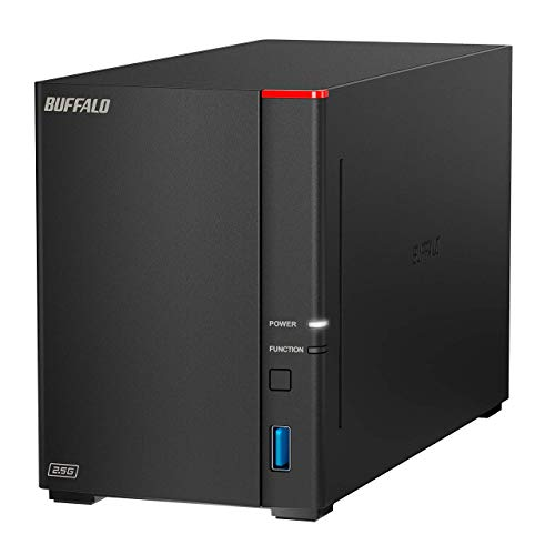 Buffalo LinkStation 720D 16TB Storage System - Compatible with PC, MAC, Android, iOS - Professional Backup Software - SATA 6.0 Gbps - 2.5 Gigabit Ethernet - RAID Storage