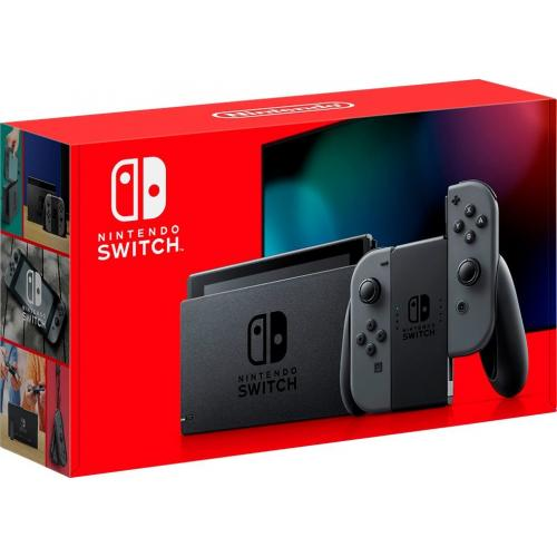 Nintendo Switch With Gray Joy Con Controllers + Pokemon Snap For Nintendo Switch +Nyko Core 80801 Wired Gaming Headset + Nintendo Switch Online Family Membership 12 Month Code