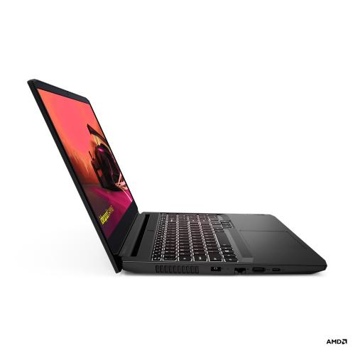 "Lenovo IdeaPad Gaming 3 15.6"" 120Hz Gaming Laptop AMD Ryzen 5 5600H 8GB RAM 512GB SSD RTX 3050 4GB GDDR6 Shadow Black"