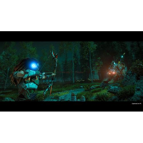 Horizon Zero Dawn: Complete Edition For PC (Email Delivery)   For PC Gaming/ Steam   Email Delivery Code Only   ESRB Rated T (Teen 13+)   Action/Adventure RPG