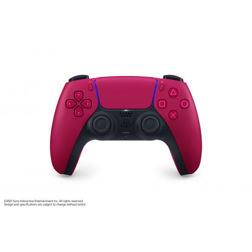 PlayStation 5 DualSense Wireless Controller Cosmic Red - Compatible w/ PlayStation 5 - Built-in microphone & 3.5mm jack - Feat. haptic feedback & adaptive triggers - Charge & Play via USB Type-C - Features new Create Button