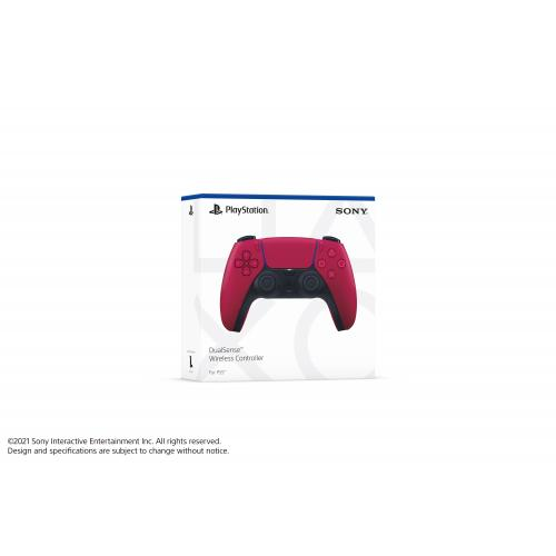 PlayStation 5 DualSense Wireless Controller Cosmic Red   Compatible W/ PlayStation 5   Built In Microphone & 3.5mm Jack   Feat. Haptic Feedback & Adaptive Triggers   Charge & Play Via USB Type C   Features New Create Button