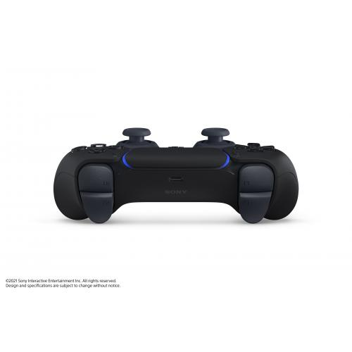 PlayStation 5 DualSense Wireless Controller Midnight Black   Compatible W/ PlayStation 5   Built In Microphone & 3.5mm Jack   Feat. Haptic Feedback & Adaptive Triggers   Charge & Play Via USB Type C   Features New Create Button