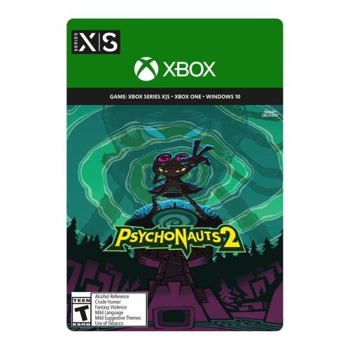 Psychonauts 2 (Digital Download) - For Xbox Series X S & Xbox One - ESRB Rated T (Teen 13+) - Releases 8/25/2021 - Platform- Adventure Game