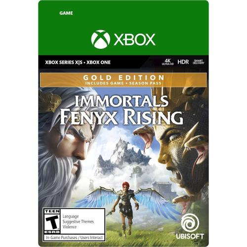 Immortals Fenyx Rising Gold Edition Xbox Series X S/Xbox One (Email Delivery) - For Xbox Series X S & Xbox One - Email Delivery Code Only - Includes Season Pass & Bonus Content w/ Gold Edition - Action/Adventure game - ESRB Rated T (Teen 13+)