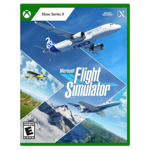 Microsoft Flight Simulator Standard Edition - For Xbox Series X - ESRB Rated E (Everyone) - Releases on 7/27/2021 - Explore the World - 20 Detailed Planes + 30 Airports