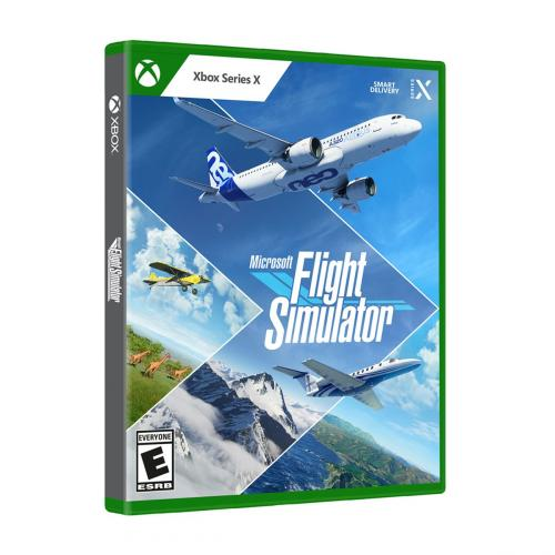 Microsoft Flight Simulator Standard Edition   For Xbox Series X   ESRB Rated E (Everyone)   Releases On 7/27/2021   Explore The World   20 Detailed Planes + 30 Airports