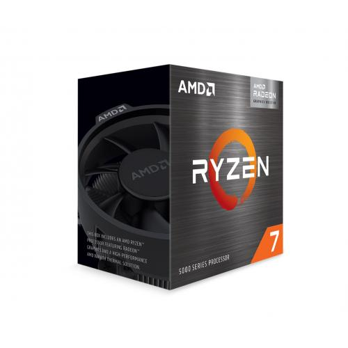AMD Ryzen 7 5700G 8 Core 16 Thread Desktop Processor With Radeon Graphics   8 CPU Cores & 16 Threads   8 GPU Cores   3.8 GHz  4.6 GHz CPU Speed   16MB Total L3 Cache   PCIe 3.0 Ready