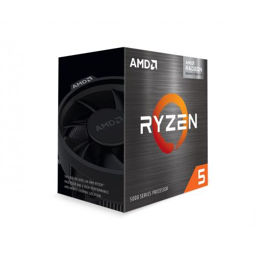 AMD Ryzen 5 5600G 6 Core 12 Thread Desktop Processor With Radeon Graphics   6 CPU Cores & 12 Threads   7 GPU Cores   3.9 GHz  4.4 GHz CPU Speed   16MB Total L3 Cache   PCIe 3.0 Ready