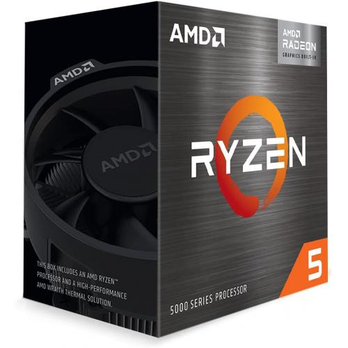 AMD Ryzen 5 5600G 6 core 12 thread Desktop Processor with Radeon Graphics - 6 CPU Cores & 12 Threads - 7 GPU Cores - 3.9 GHz- 4.4 GHz CPU Speed - 16MB Total L3 Cache - PCIe 3.0 Ready