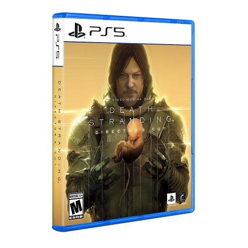 Death Stranding Director's Cut For PS5   For PlayStation 5   Releases 9/24/2021   ESRB Rated M (Mature 17+)   Action/Adventure Game