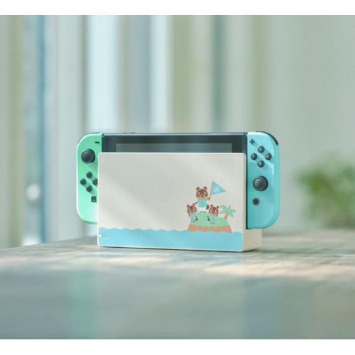 Nintendo Switch Console 32GB Special Animal Crossing: New Horizons Edition + Nintendo Switch Online Family Membership 12 Month Code + Nyko Core 80801 Wired Gaming Headset